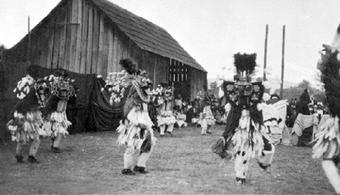 Quamichan Indian Reserve traditional potlatch 1900