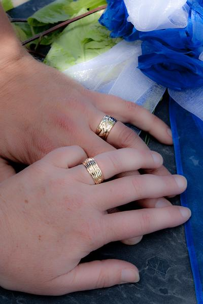 Traditional Coast Salish Wedding Rings